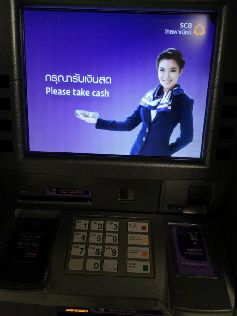 Revolut na Tailândia: ATM na Tailândia