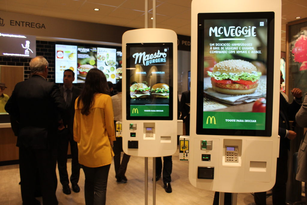 Máquinas automáticas do McDonalds
